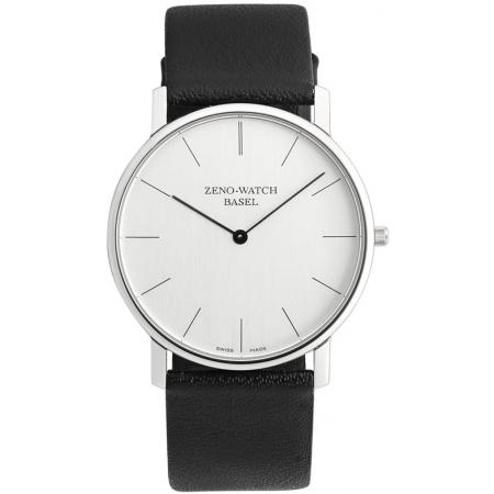 ZENO-WATCH BASEL, Bauhaus XL, Quartzuhr silber
