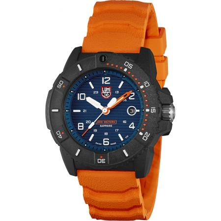 LUMINOX Navy Seals Carbonox Saphir, schwarz-blau