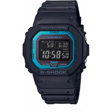 G-SHOCK Bluetooth Digital-Funkuhr Resin schwarz-blau