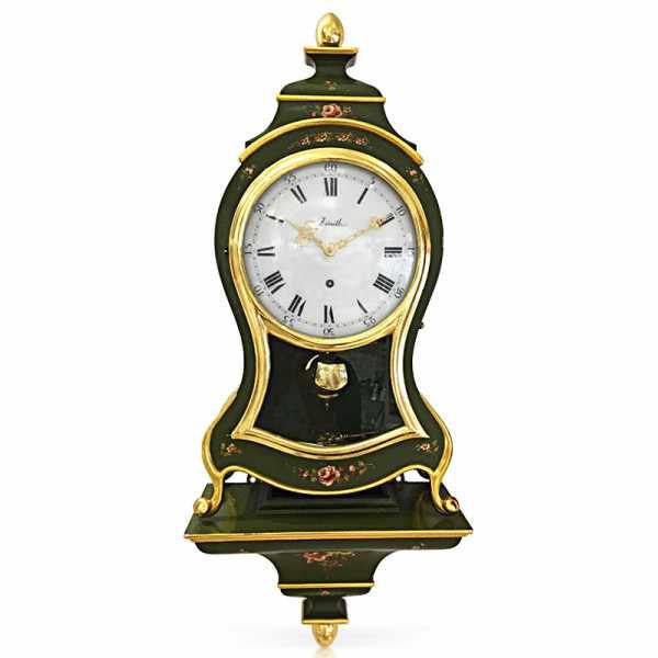 ZENITH Neuenburger Pendule, Louis XVI grün Occasion_20890