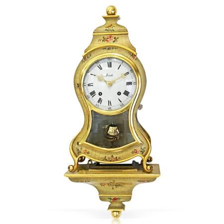 ZENITH Neuenburger Pendule, Louis XVI gold/bunt Occasion_20894