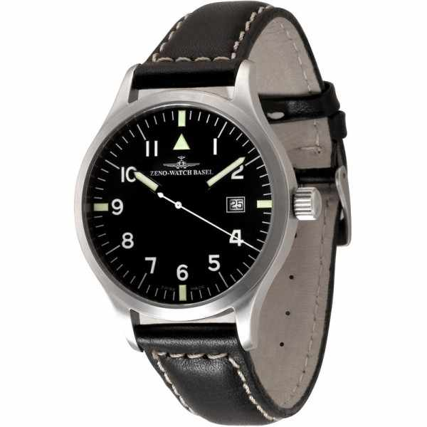 ZENO-WATCH BASEL, Pilot Test, Automatik Fliegeruhr_2100