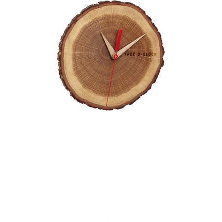 TFA Wanduhr aus Eichenholz_21049
