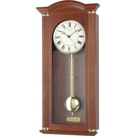 AMS Regulator Funk Holz Wanduhr mit Pendel, Westminster 64_21179