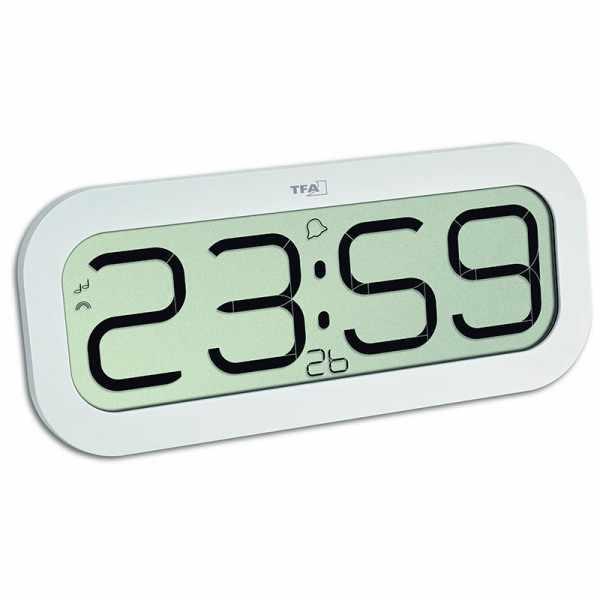 TFA Bimbam, LCD Funkuhr mit Stundenschlag_21199