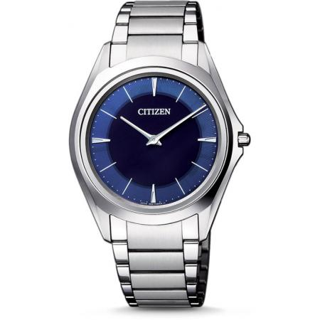 CITIZEN Eco-Drive One, Solaruhr, Titan blau