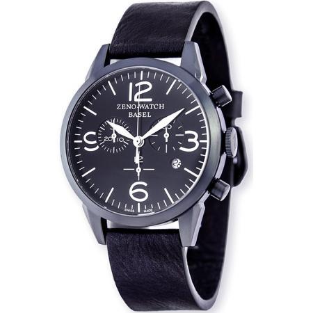 ZENO-WATCH BASEL, Vintage Line Chronograph, Quartzuhr blau_21330