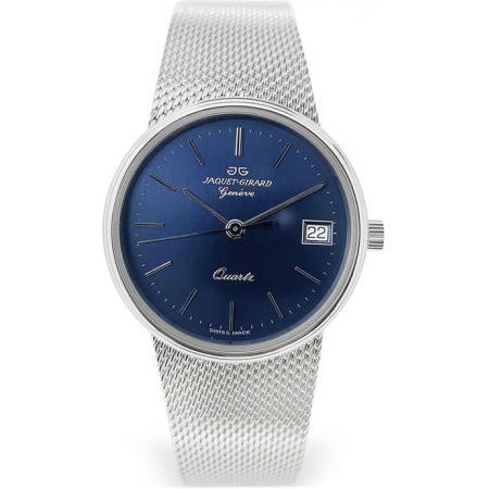 JAQUET+GIRARD Geneve, Milanaise Armbanduhr blau_21348