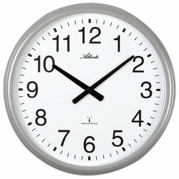 ATLANTA Funkwanduhr: Wetterresistente Uhr für drinnen und draussen_21385
