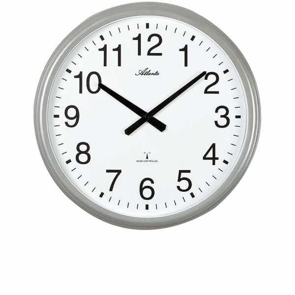 ATLANTA Funkwanduhr: Wetterresistente Uhr für drinnen und draussen_21386