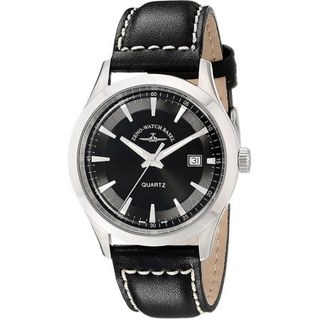 ZENO-WATCH BASEL, Retro Gentlemen, Quartz Uhr, schwarz_21572