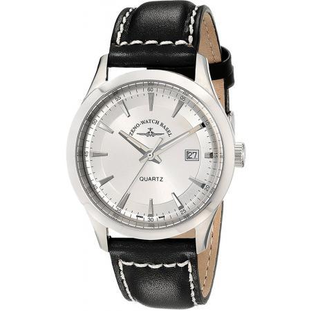 ZENO-WATCH BASEL, Retro Gentlemen, Quartz Uhr, silber_21643