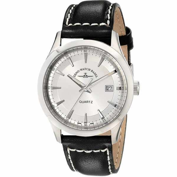 ZENO-WATCH BASEL, Retro Gentlemen, Quartz Uhr, silber_21643
