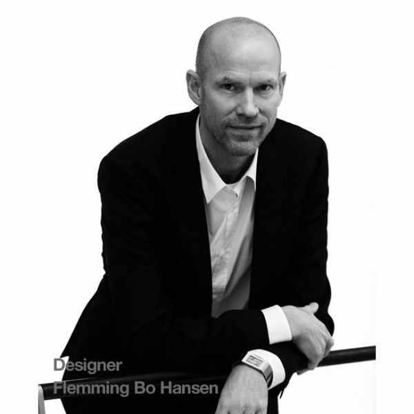 FLEMMING BO HANSEN, LCD Digitaluhr, Watch III, Edelstahl_21783