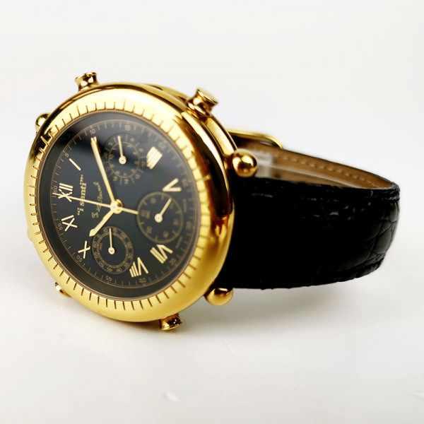I SANTI, Chronograph Quartzuhr mit Lederband_21877