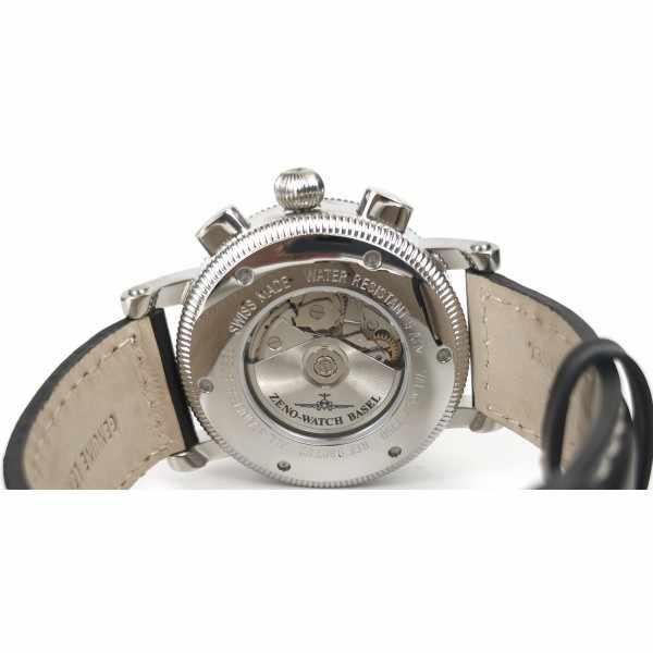 ZENO-WATCH BASEL, Nostalgia Chronograph, Tag und Datum_22477