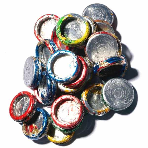 Cancan Alu recycling Quartzuhr weiss rot_22596