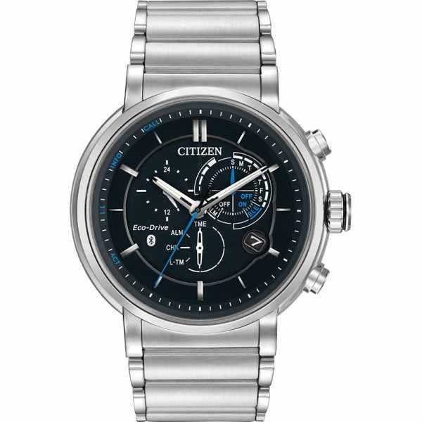 CITIZEN Bluetooth Proximity Smartwatch, EcoDrive Solar, Edelstahl_22822