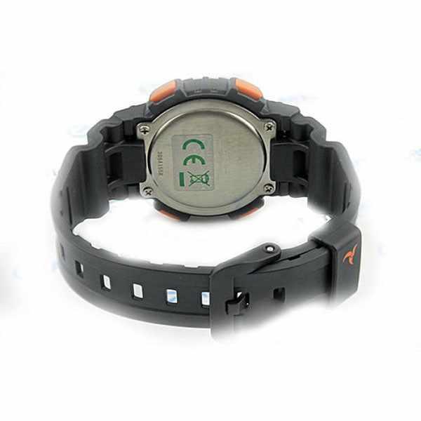 CASIO Solar LCD Illuminator Sportuhr klein, schwarz-orange_22823