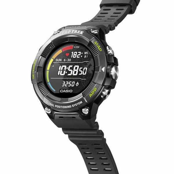 CASIO Pro Trek Smart GPS Outdooruhr mit Smartphone Link_23281