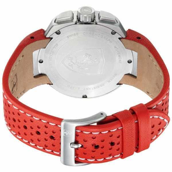 Ferrari, Fast Lap, Chronograph, Quartzuhr rot schwarz_233