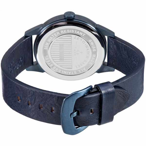 ZENO-WATCH BASEL, Retro Vintage, Quartzuhr blau_2392