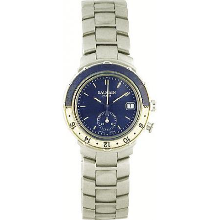 BALMAIN Paris. NOS, Lady Chrono, Quartzuhr blau_2482