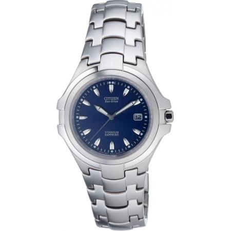 CITIZEN, Marinaut Medium, Eco-Drive Solaruhr, Super Titanium, blau_2593
