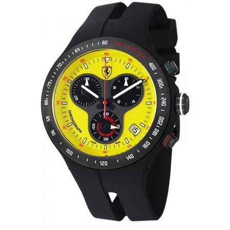 Ferrari, Jumbo 150th Anniversary, Quartz Chronograph, gelb_2666