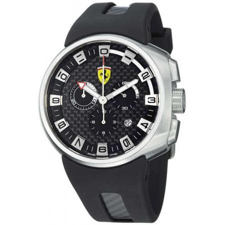 Ferrari, Podium, Chronograph, Quartzuhr, schwarz