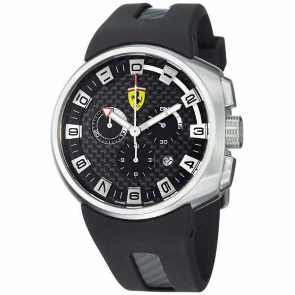 Ferrari, Podium, Chronograph, Quartzuhr, schwarz_2667