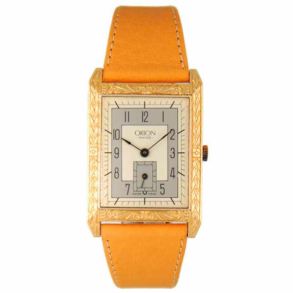 ORION Swiss, Art Deco, Quartzuhr_2963