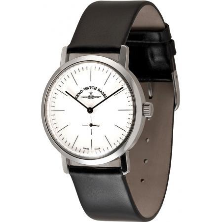 ZENO-WATCH BASEL, Bauhaus Vintage, Handaufzug Uhr mit altem Uhrwerk