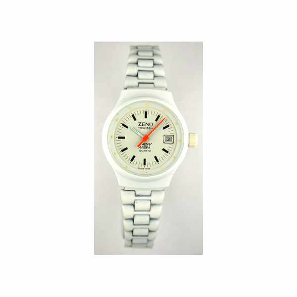 New White Damen Quartzuhr weiss_3251
