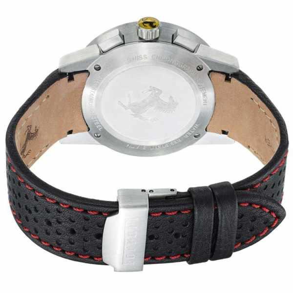 Ferrari, Granturismo, Chronograph, Quartzuhr schwarz/rot_353