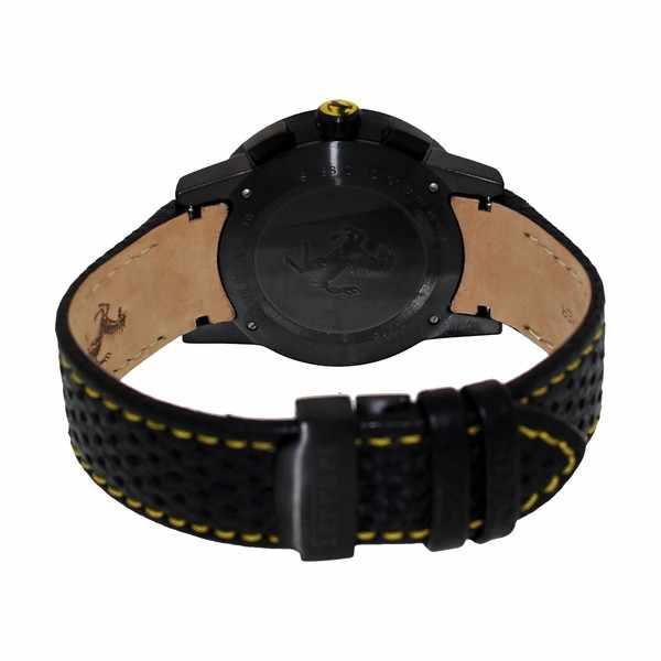 FERRARI Granturismo Chronograph Quartzuhr schwarz/gelb_355