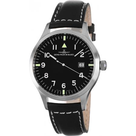 ZENO-WATCH BASEL, Pilot Test, Automatik Fliegeruhr_3716