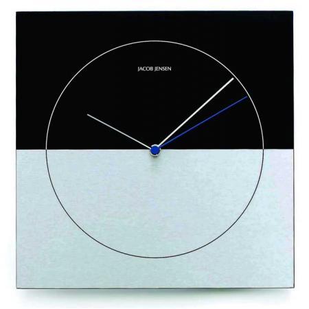 JACOB JENSEN Wall Clock Classic, Designer Quartz Wanduhr