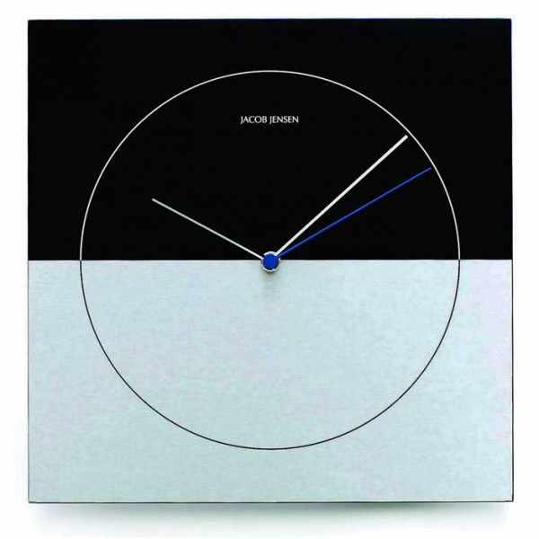 JACOB JENSEN, Wall Clock Classic, Quartz, Designer Wanduhr_379