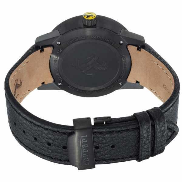 FERRARI Granturismo Automatik Uhr, Edelstahl schwarz_386