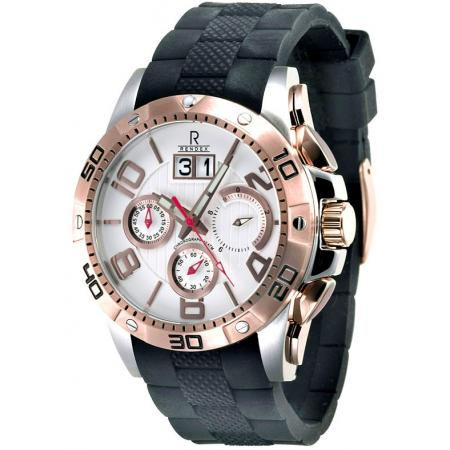 RENDEX, Chrono Big Date, Quartzuhr, rose gold_3901