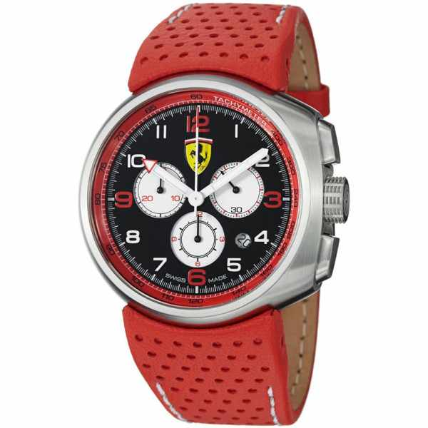 Ferrari, Fast Lap, Chronograph, Quartzuhr rot schwarz_3925