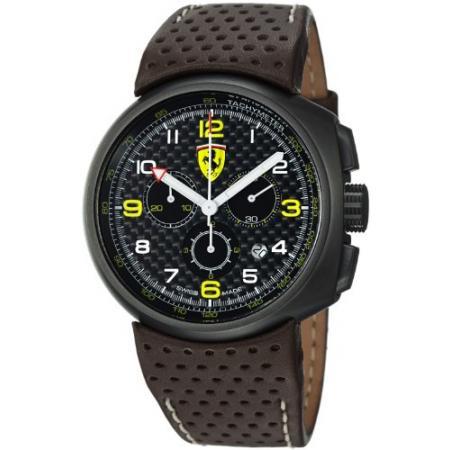 FERRARI Fast Lap Chronograph Quartzuhr schwarz, braun_3927