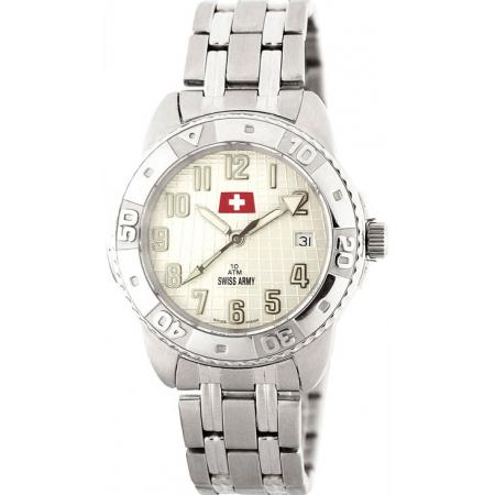 SWISS ARMY, Sporty, Quartzuhr, weiss