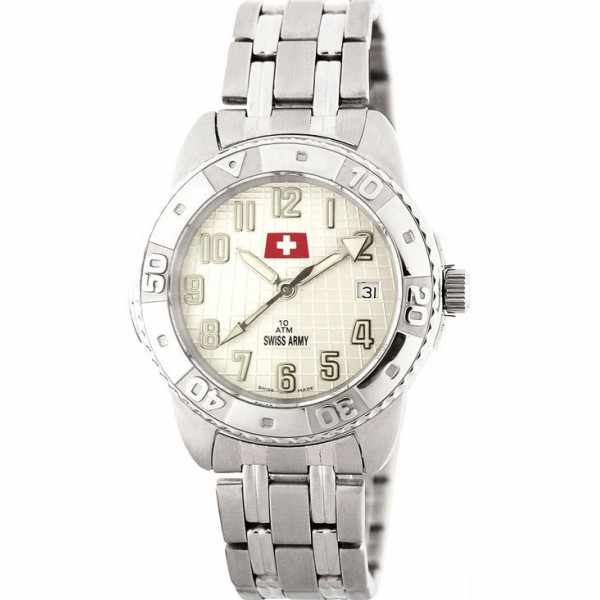 SWISS ARMY, Sporty, Quartzuhr, weiss_3986