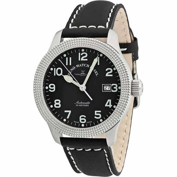 ZENO-WATCH BASEL, Pilot New Classic, Automatik Fliegeruhr, C de Paris_4242