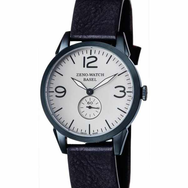 ZENO-WATCH BASEL, Retro Vintage, Quartzuhr blau_4253