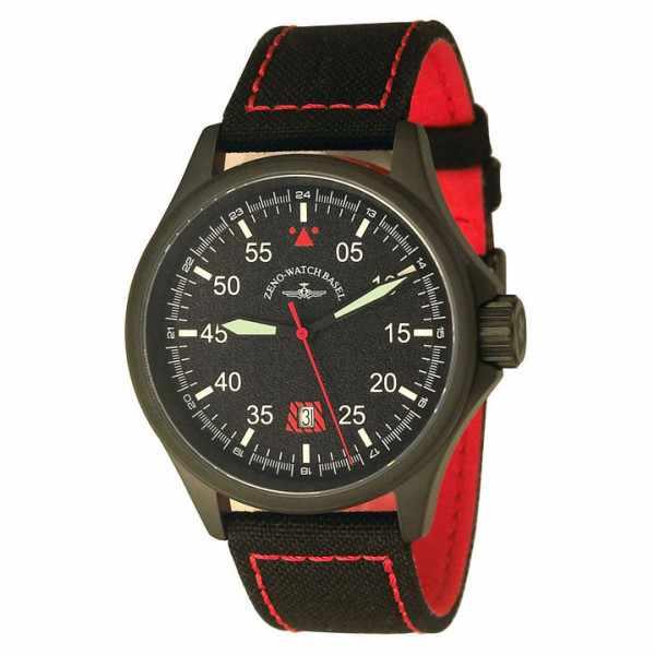 ZENO-WATCH BASEL, Pilot Race Navigator, Quartz, Fliegeruhr schwarz_4290