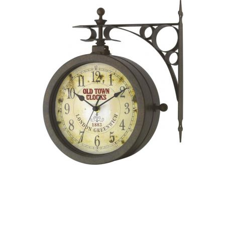 TFA Old Town Clocks, drehbare Aussenuhr, Thermometer
