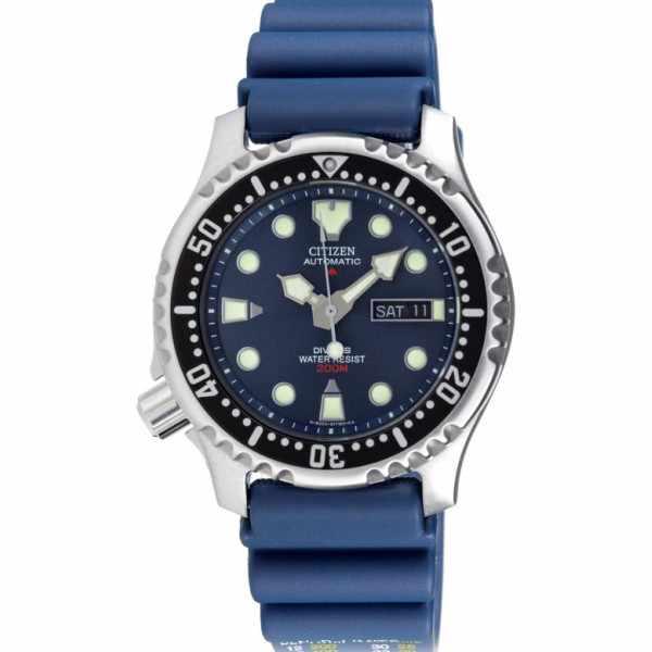 CITIZEN Promaster Sea, Diver Automatik Taucheruhr blau_4698